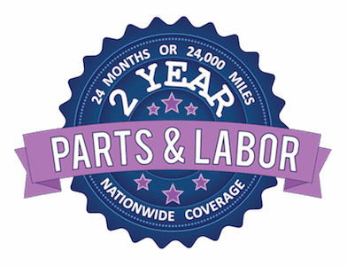 Our 24/24 Parts & Labor Guarantee proves we're serious about the quality of our Steering Parts.